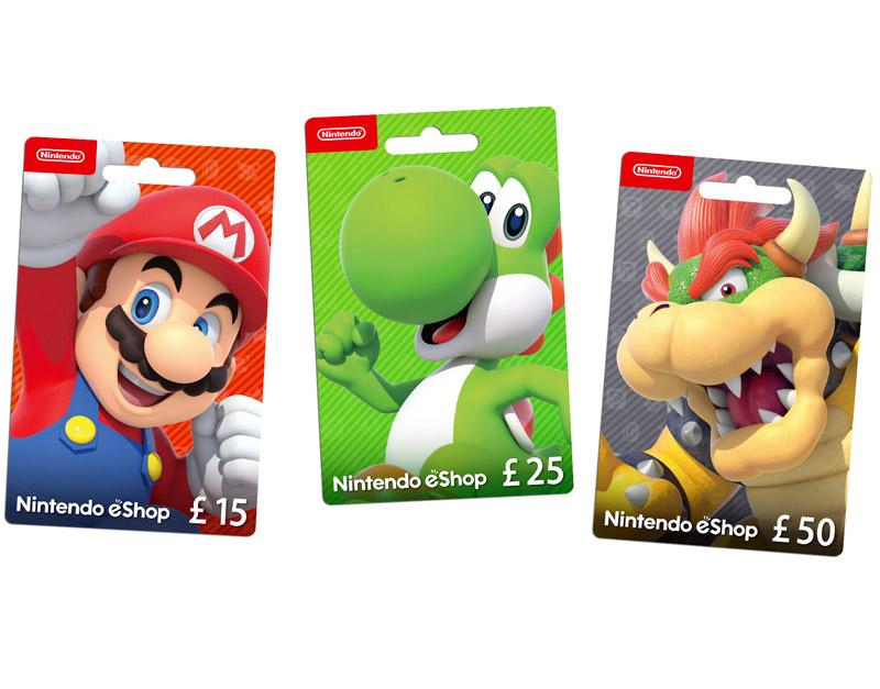 Nintendo eShop Gift Card, The Ending Credits, theendingcredits.com